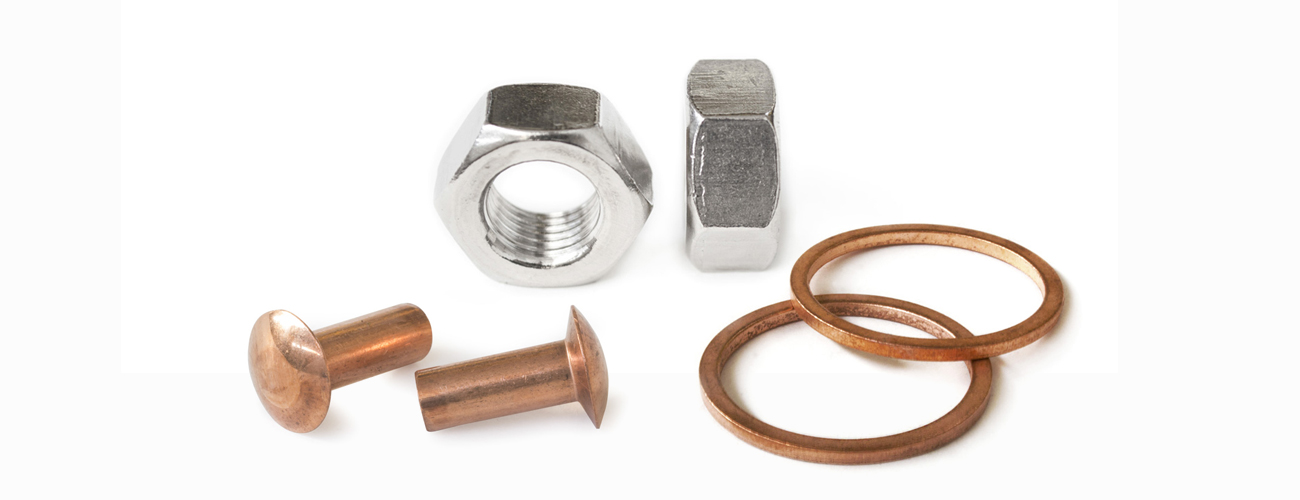 Copper and titanium screws for every need | Univiti